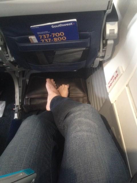 Yay for leg room!